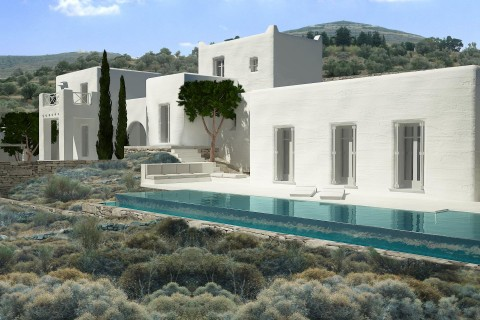 RESIDENCE IN CYCLADES